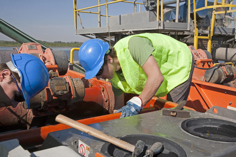 Download Workers by repair stock image. Image of plant, engine - 24727801