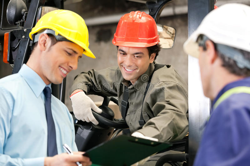 Download Workers And Supervisors At Warehouse Stock Images - Image: 36983744