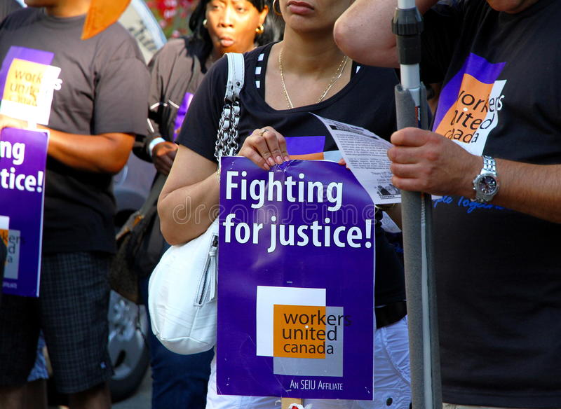 Download Workers United at a Parade editorial photo. Image of human - 26573131