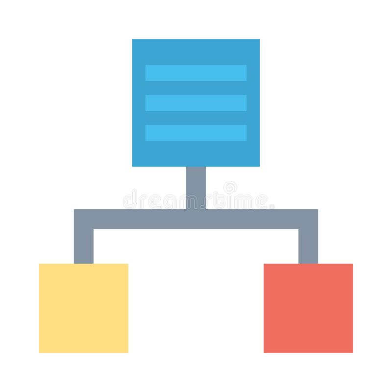 Workflow  Flat Vector icon isolated Graphic .Style in EPS 10 simple flat Icon element business & office concept. vector illustration