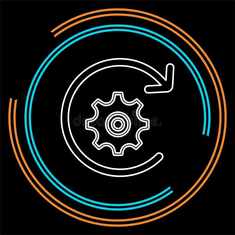 Workflow icon. element illustration. stock illustration