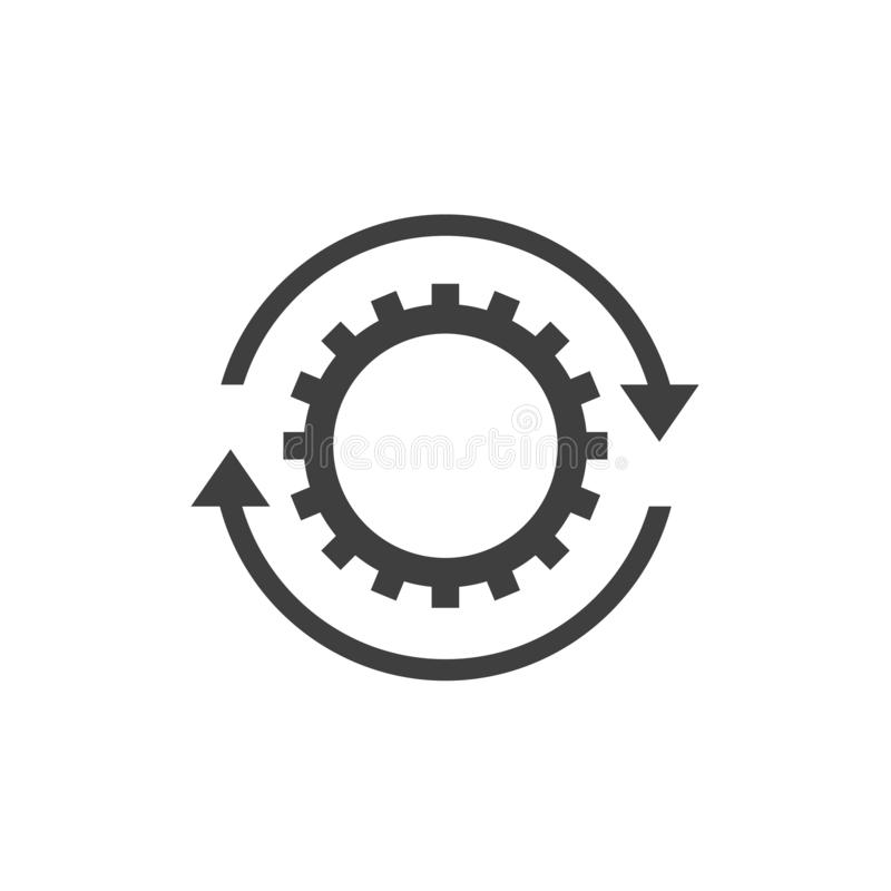 Workflow icon sign vector illustration