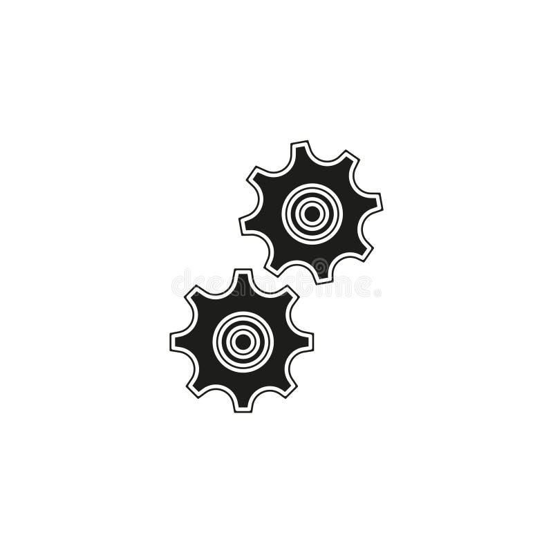 Workflow icon. Simple element illustration royalty free illustration