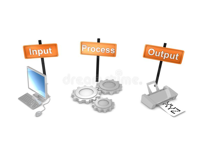 Download Workflows stock illustration. Image of management, tool - 17124517