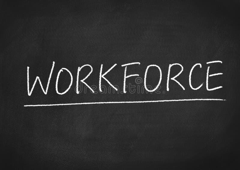 Workforce stock image