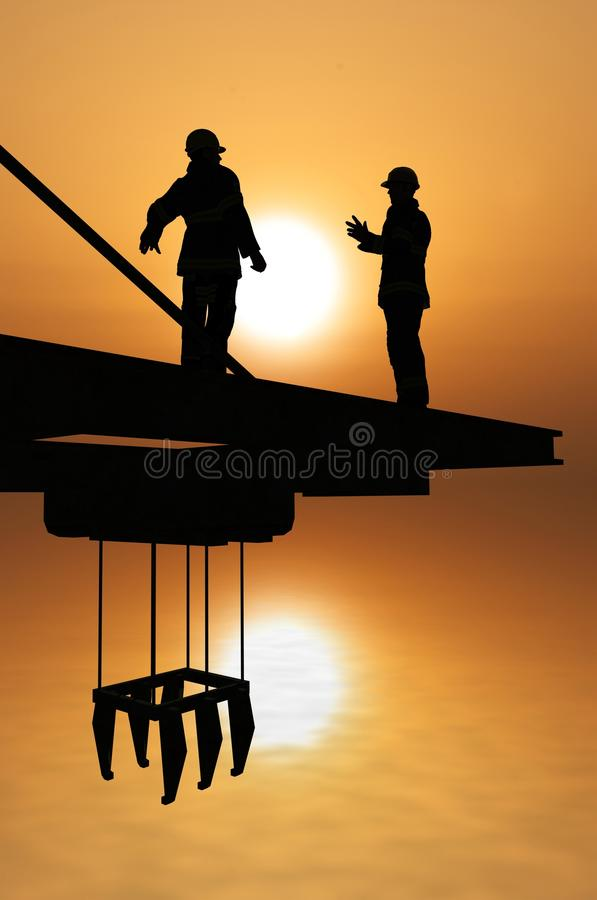 Download Working stock illustration. Image of material, occupation - 16648442