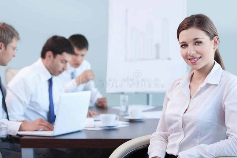 Working royalty free stock photo
