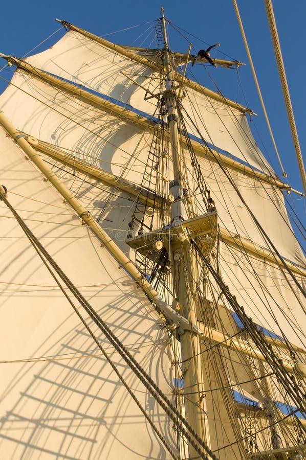 Free Working Aloft Tall Ship Stock Photo - 28036860