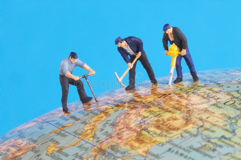 Download Working around the world stock image. Image of humankind - 647083