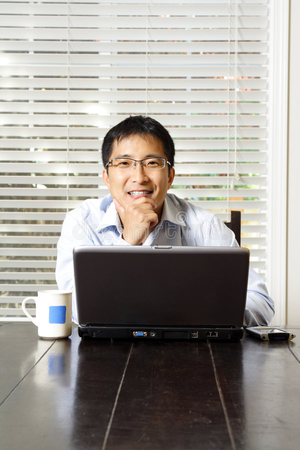 Download Working businessman stock photo. Image of laptop, manager - 2843366