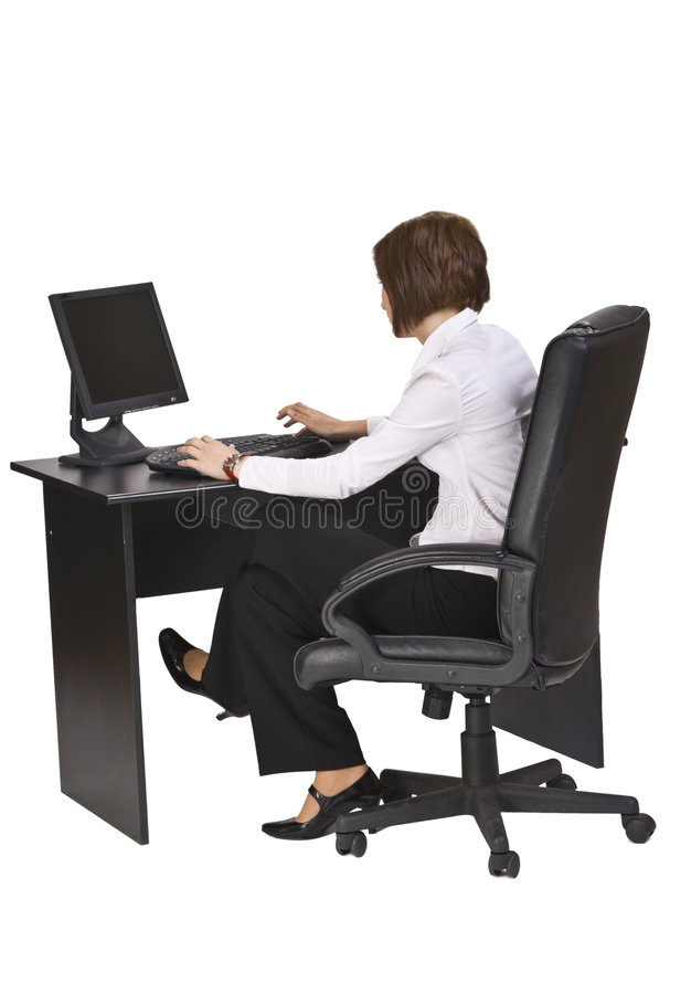 Download Working on the computer stock image. Image of corporate - 7220771