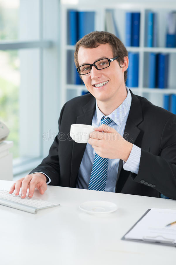 Working day�s beginning stock images