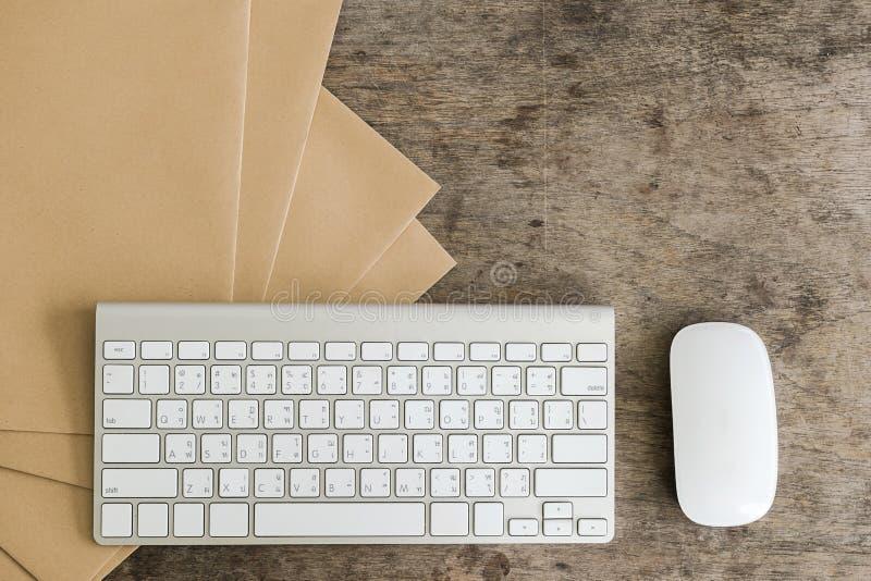 Working desktop concept idea stock image