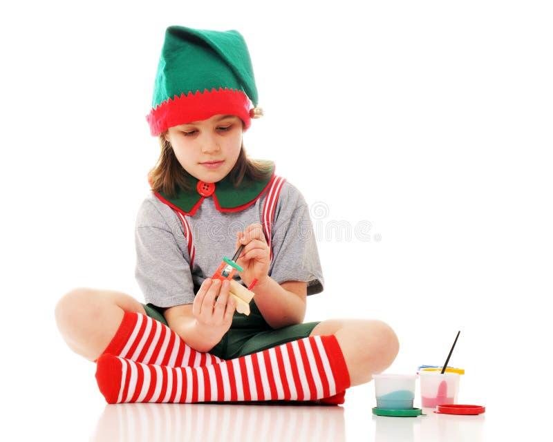 Working Elf stock images