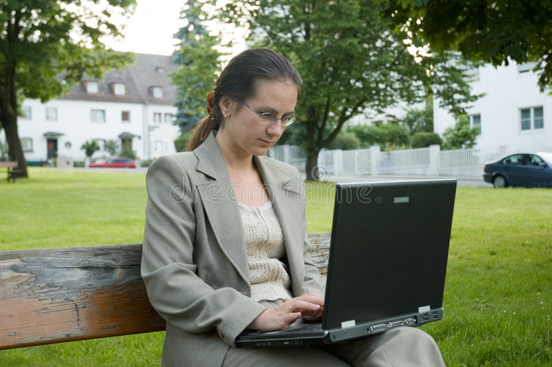Working girl stock images