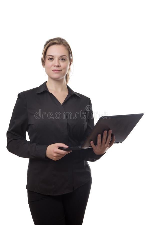Working on the go royalty free stock image