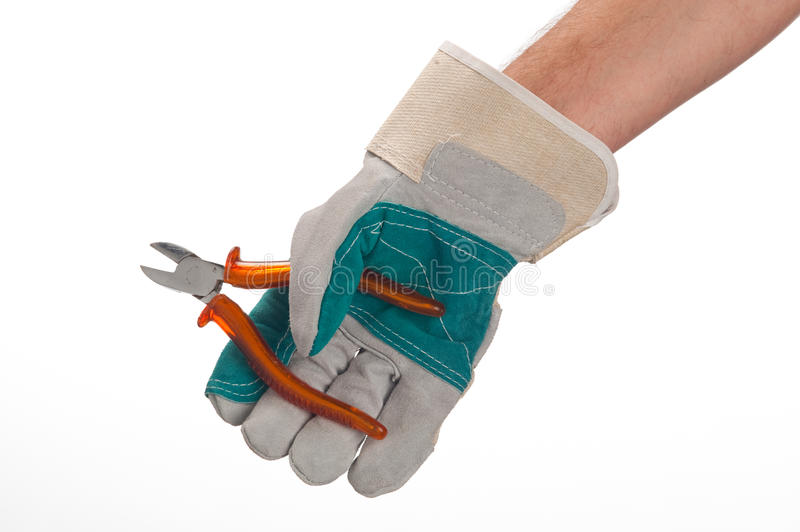 Download Working hands with tool stock image. Image of mallet - 14854989