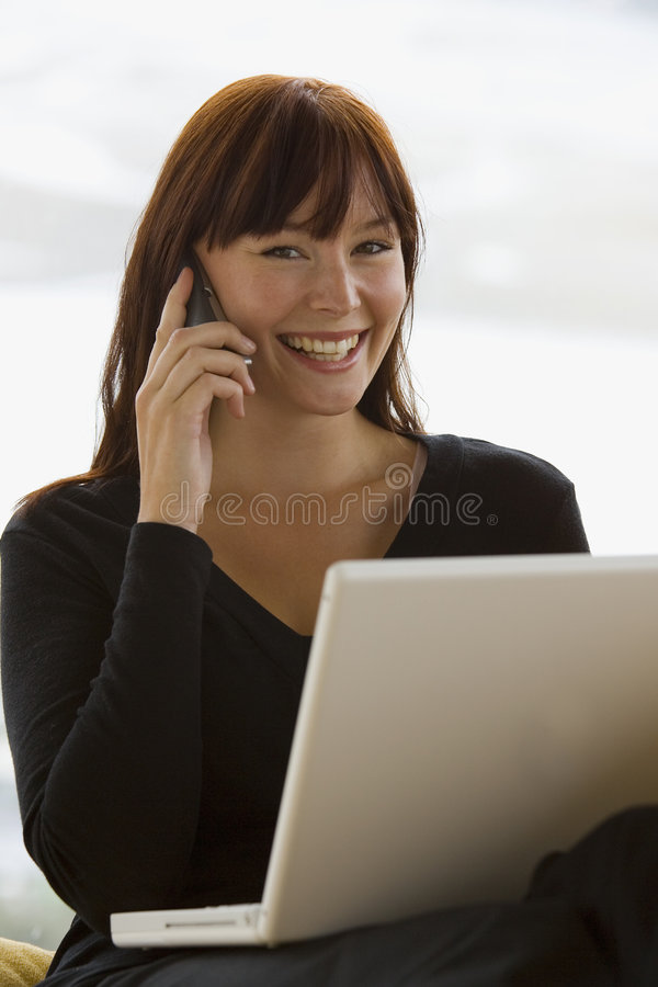 Working At Home 13 stock images