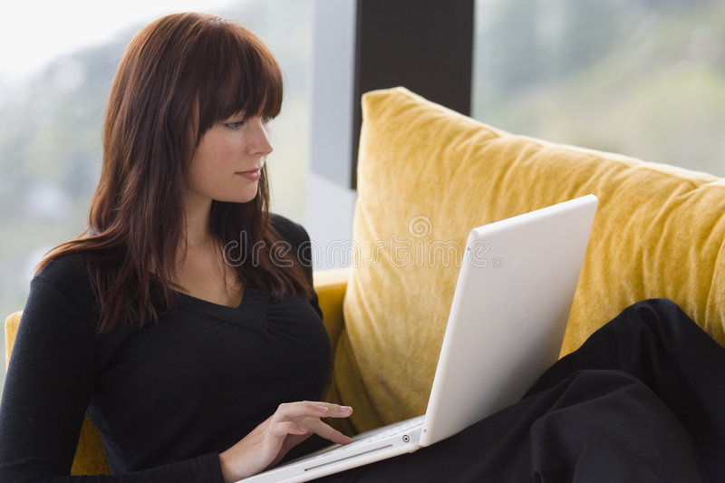 Download Working At Home 7 Royalty Free Stock Photos - Image: 620488