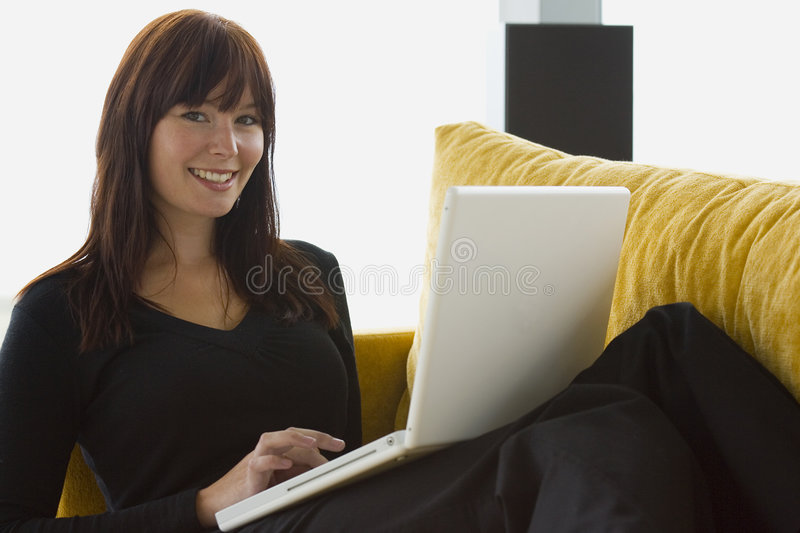 Working At Home 8 royalty free stock images