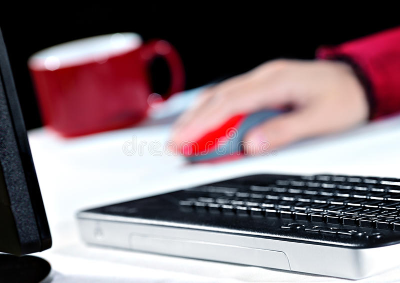 Download Working At Home Royalty Free Stock Image - Image: 36930276