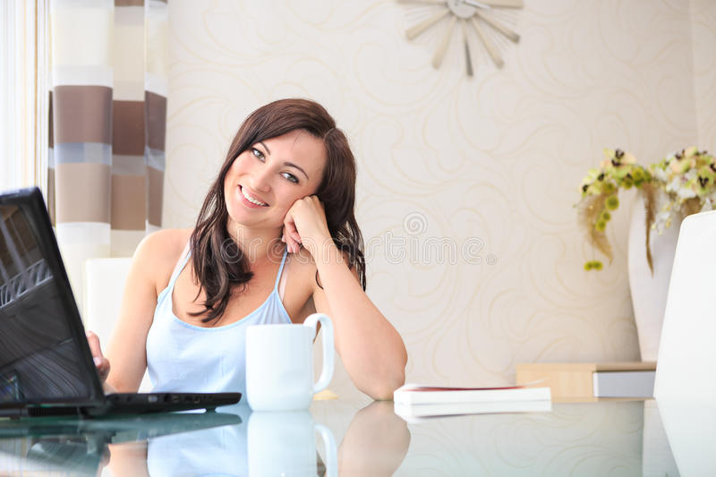 Download Working at home stock photo. Image of home, interior - 31871048