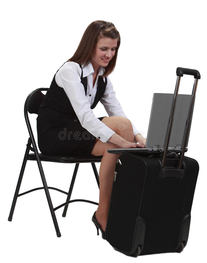 Download Working on a laptop stock photo. Image of technology - 16021934