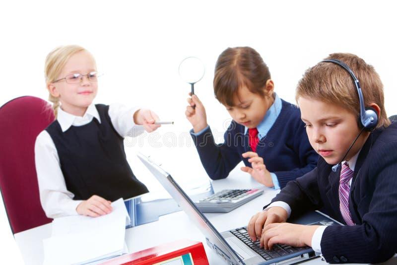 Working meeting stock photos