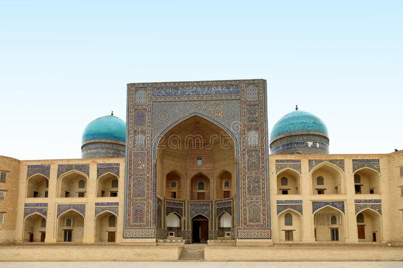 Mir-i-Arab Medressa, Bukhara, Uzbekistan. Historic, building. stock photos