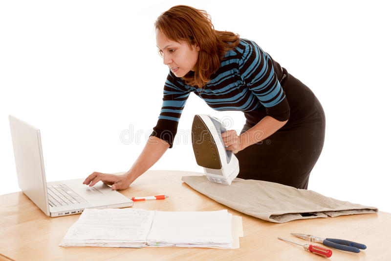 Working mom stock images