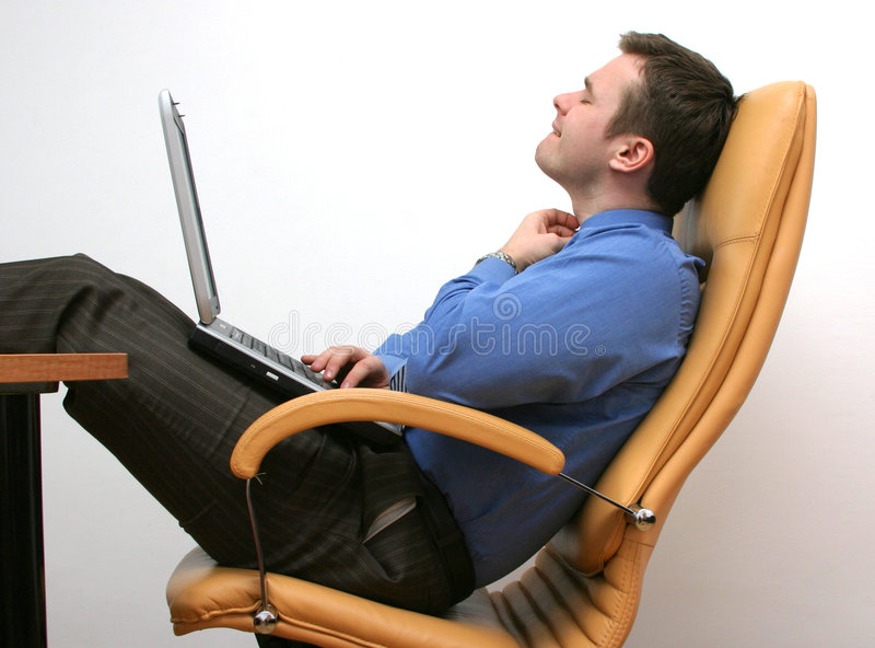 Download Working in the  office stock photo. Image of male, armchair - 112552