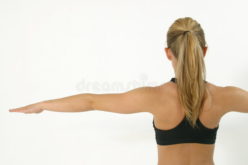 Working out 7 royalty free stock image