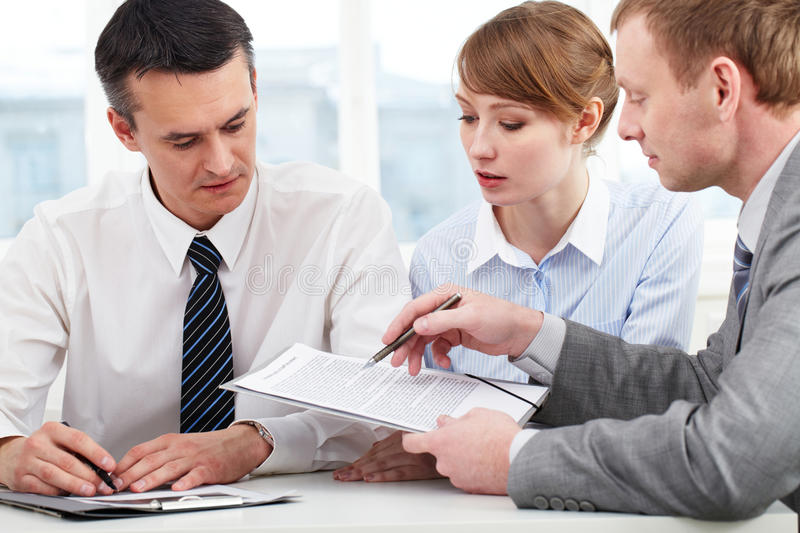 Working people royalty free stock image