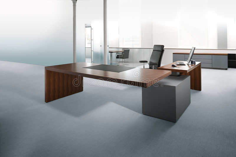 Working place. In contemporary office stock photos
