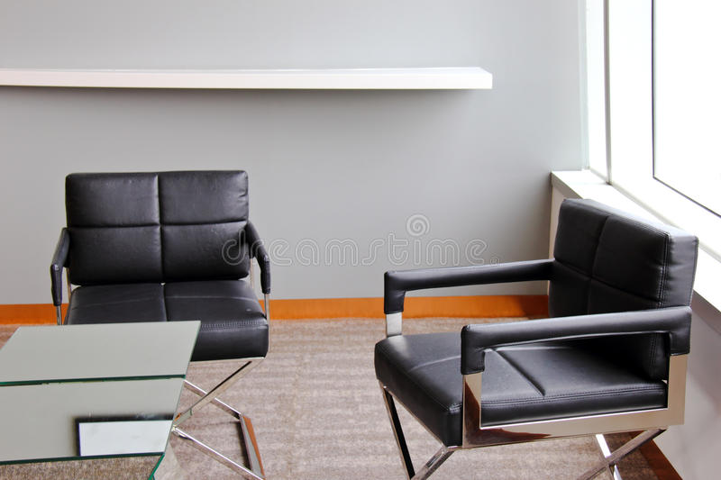 Working place in modern office royalty free stock photo