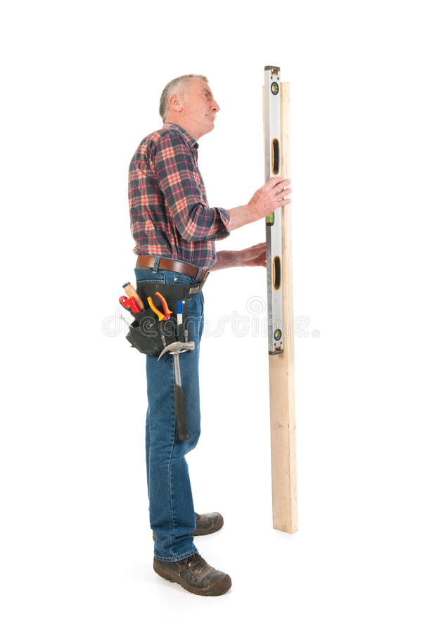 Download Working with plumb rule stock image. Image of rail, wooden - 33487271