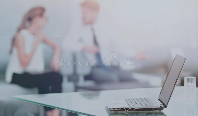 Working process in a modern office royalty free stock images