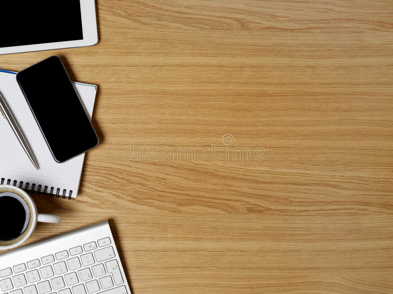 Working table royalty free stock images