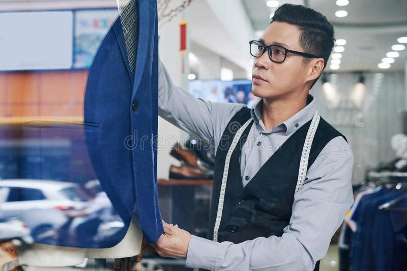 Working tailor royalty free stock images