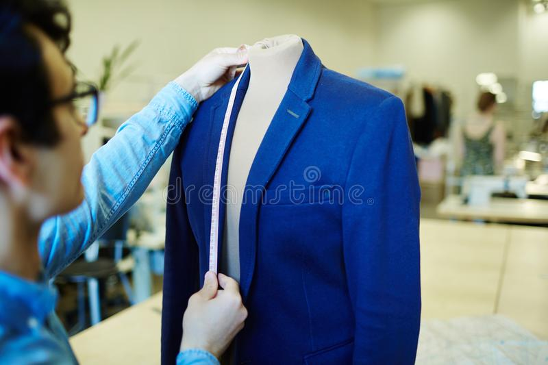 Working tailor royalty free stock image