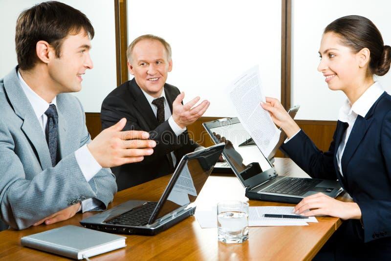Working team stock photo