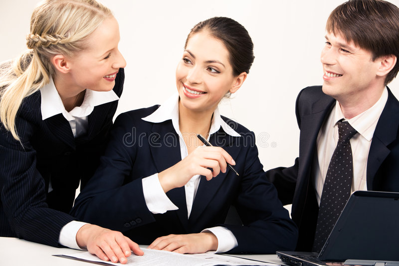 Working team stock photos