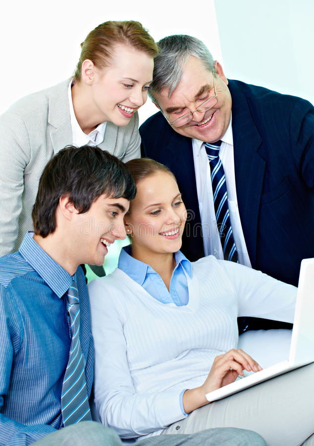 Download Working in team stock image. Image of attention, executive - 32730637