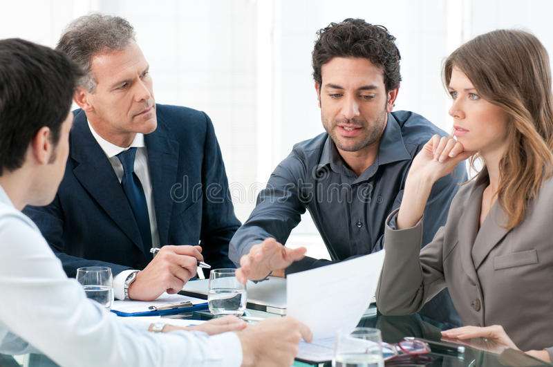 Download Working together stock image. Image of analyzing, office - 22891567
