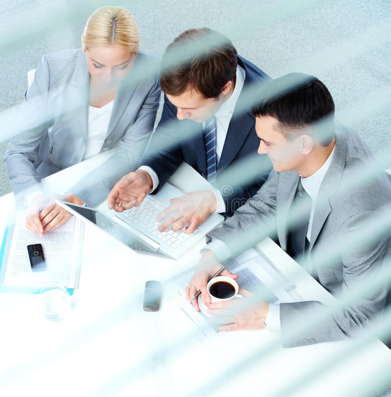 Download Working together stock photo. Image of interacting, explaining - 33382590