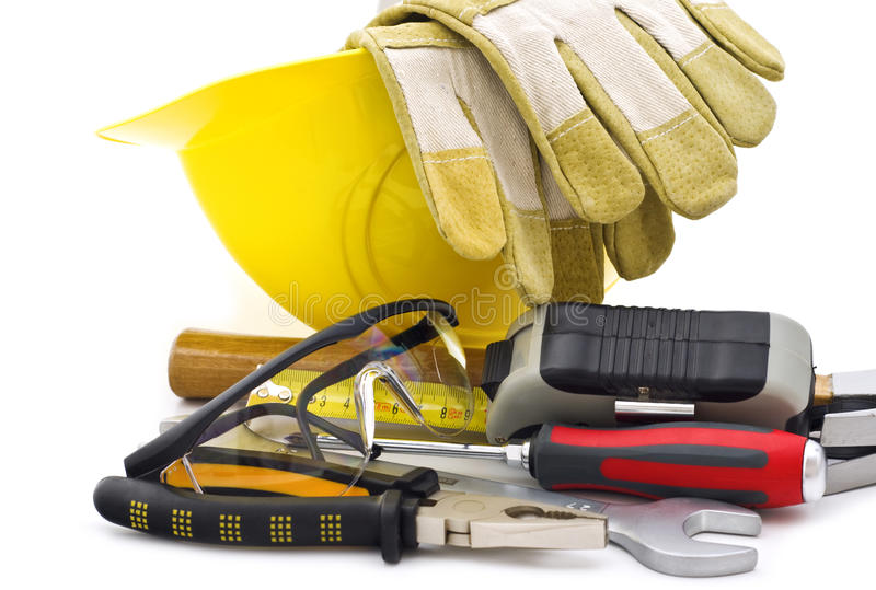 Working tools royalty free stock image
