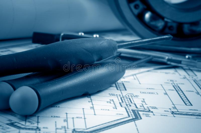 Download Working tools stock photo. Image of profession, layout - 8303582