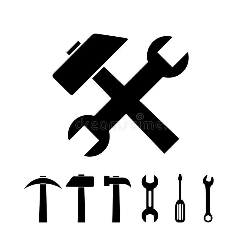 Download Working tools stock vector. Image of screwdriver, shape - 35668332