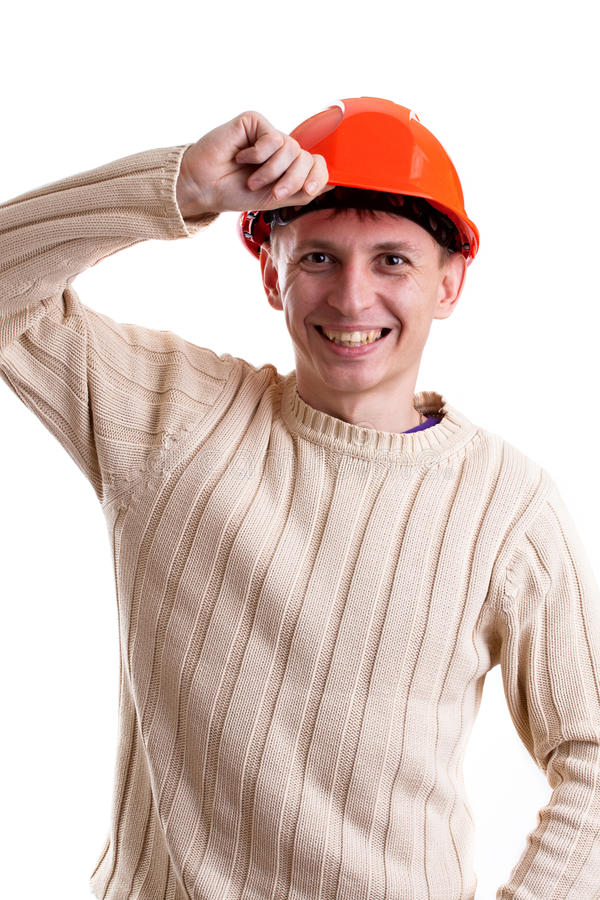 Download Workman stock image. Image of pullover, workman, smile - 23436815