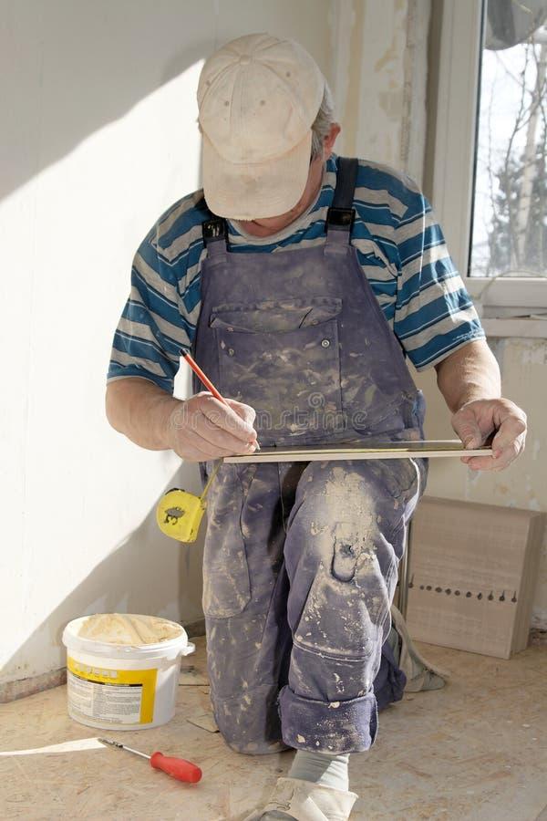 workman arkivbild